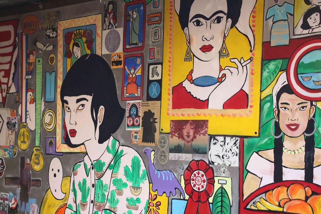 Frida y compañía. Foto: Alesita Ríos