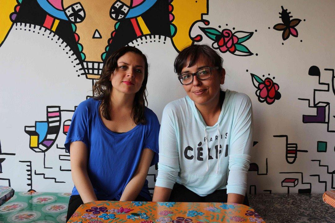 Las fundadoras. Foto: Alesita Ríos