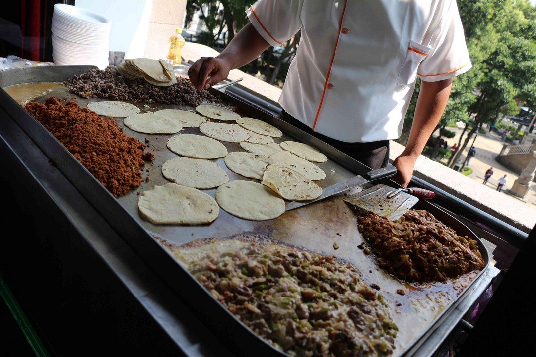 ¡Tacos! Foto: Alesita Ríos