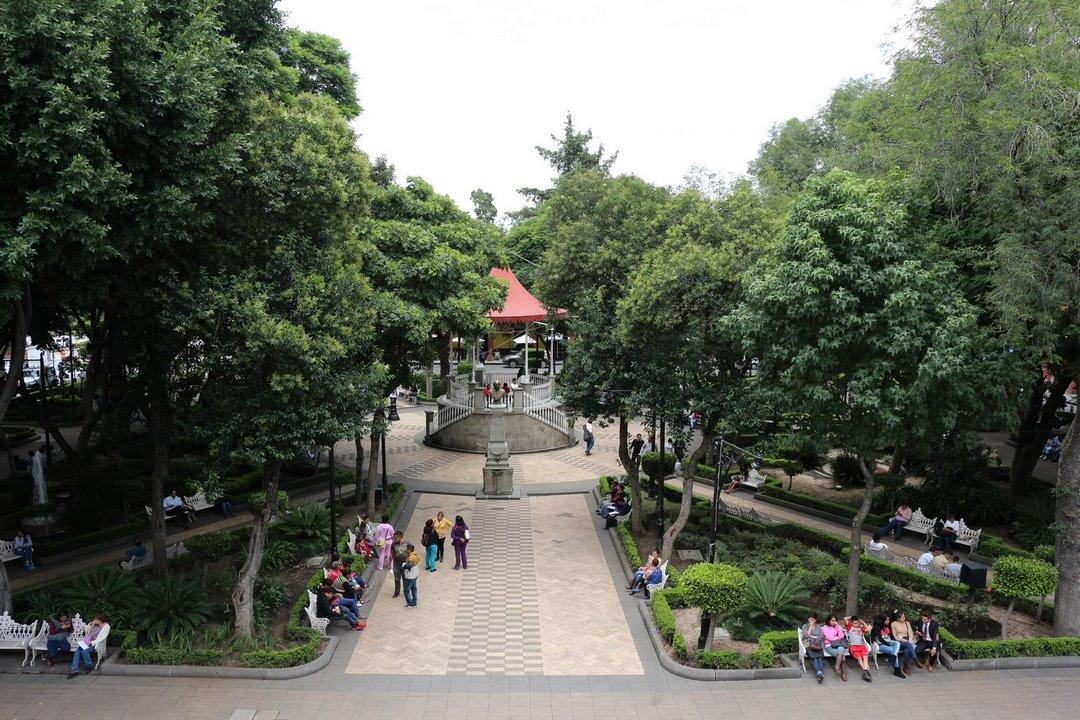 Plaza de la Constitución. Foto: Alesita Ríos