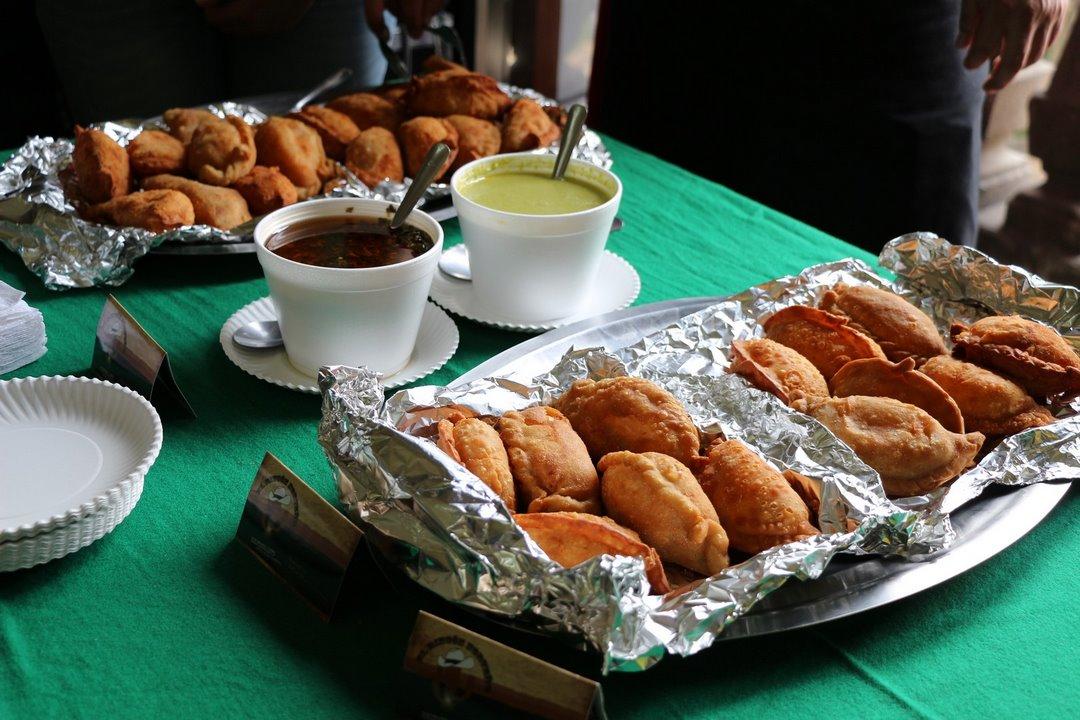 Ricas empanadas. Foto: Alesita Ríos