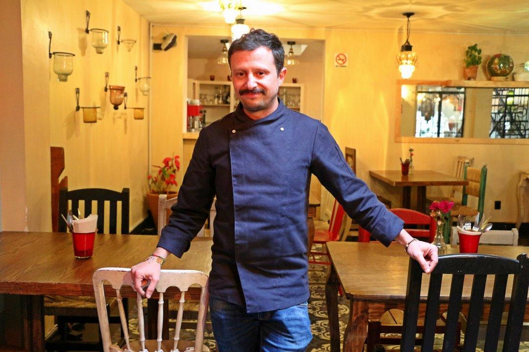 Chef Alfonso. Foto: Alesita Ríos